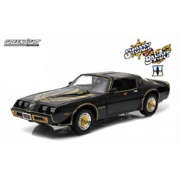 SMOKEY AND THE BANDIT II 1980 PONTIAC 1:18 SCALE DIECAST GREENLIGHT